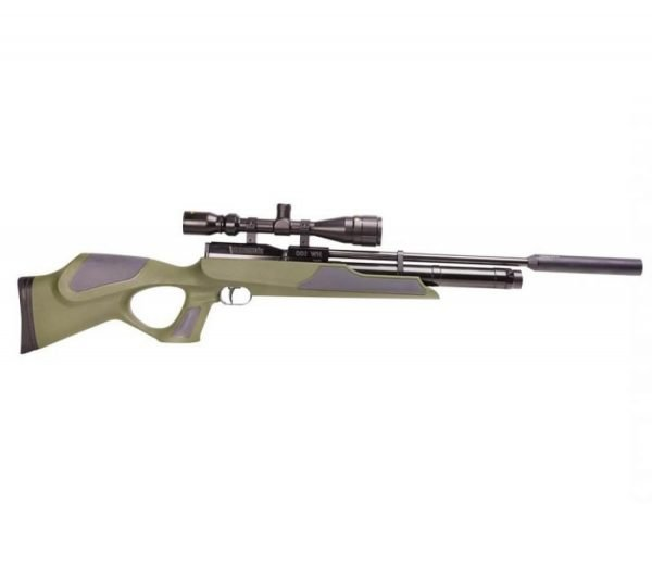 Weihrauch HW100 KT Green Synthetic PCP Air Rifle 1