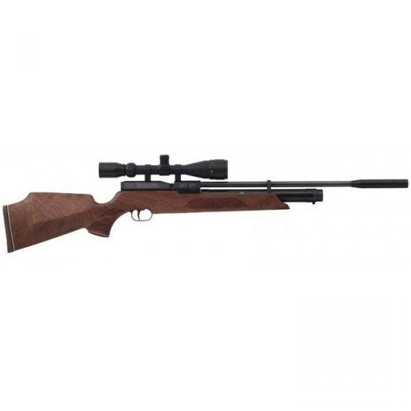 Weihrauch HW100 S Walnut PCP Air Rifle 1