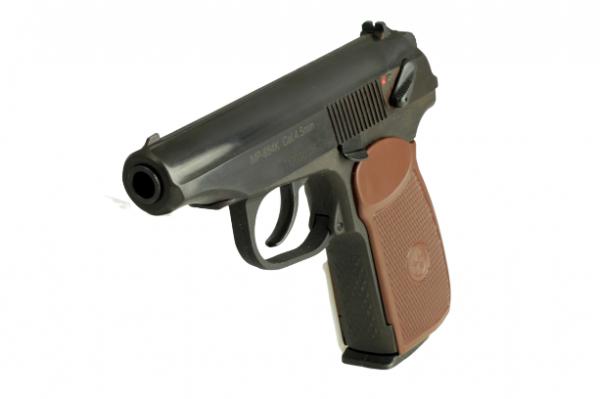 Baikal Makarov MP-654K Pistol Black 3